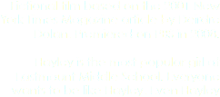 Fictional film based on the 2001 New York Times Magazine article by Deirdre Dolan. Premiered on PBS in 2008. Hayley is the most popular girl at Eastmount Middle School. Everyone wants to be like Hayley. Even Hayley